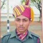 Sepoy Sunil Patel