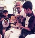 Yashvir's Father Girwar Singh Tomar And children, Uday and Pankaj