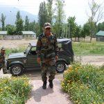 Lt Navdeep Singh at a training camp