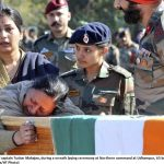 Mother pays he last respects to Captain Tushar Mahajan