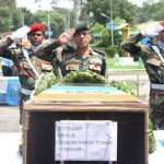 last rites were performed with full military honours at Tomar's ancestral village Tarsama in MP's Morena district in the presence of a large number of people.