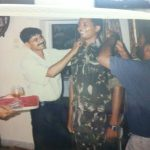 Maj Avinash Bhadauria during one of the ceremonies in the unit