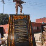 Statue at Govt College Gurdaspur in Punjab