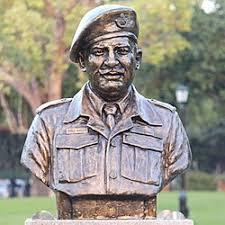 Statue of CHM Piru Singh PVC