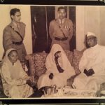 Mrs Mehta Singh with president Dr Rajendra Prasad