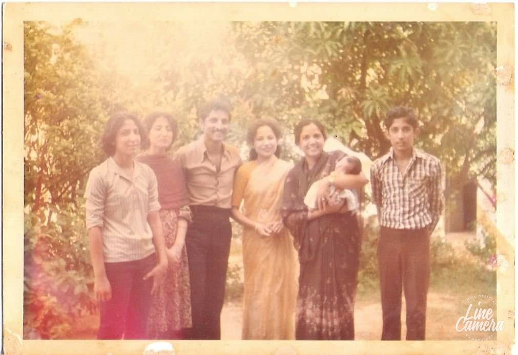 Major Balram Singh Jamwal's family members