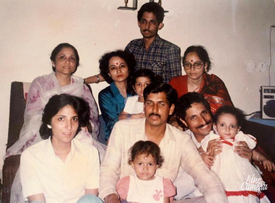 Major Balram Singh Jamwal's children & grandchildren