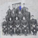 Major RD Vatsa with his comrades