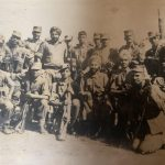 2nd Lt N Sisodia with his troops
