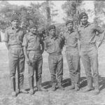 2nd Lt Hawa Singh with his team meambers