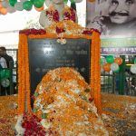 Maj Anup Singh Gahlaut's bust in his honour