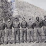 Lt Col AO Alexander along with his comrades