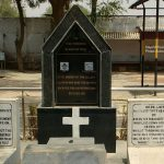 Graves of Paratrooper Kamlesh Kumar's comrades PTR Joseph VT and PTR VD Varrkey, Nagi Battle- 1971.
