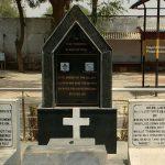 Graves of Paratrooper Kamlesh Kumar's comrades PTR Joseph VT and PTR VD Varrkey, Nagi Battle- 1971.