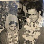 Sqn Ldr J D Kumar and his wife Mrs Satish Kumar