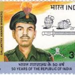 on the occasion of 50th Republic day, the Government of India issued a postal stamp in his memory.