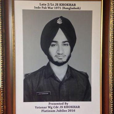 2nd Lieutenant J S Khokhar