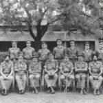 Capt M L Safaya with his comrades