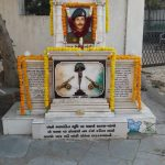 Memorial of Captain Nilesh Soni in Ahmedabad