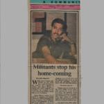 Major Vikrant Sastry