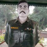 Maj Viney Choudhary 's memorial