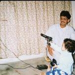 Maj Manoj Talwar with his nephew and niece.