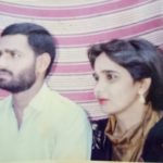 Lance Naik Bachan singh and his wife Kamesh Bala