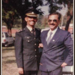 Captain Amit Verma with his father Col S Verma(Retd)