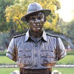 His Bust at NWM