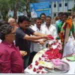 Tributes being paid to Naik Kaushal Yadav