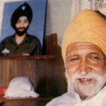 Major Kanwal Gulzar Singh;s father