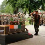Amry's Last Salute to Naik Gawade Pandurang Mahadev