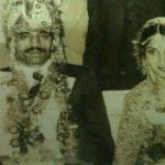 Brig R D Mehta at his wedding