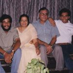 Maj Mohit sharma with his family