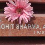 In memory of Maj Mohit sharma