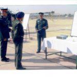 Maj Atul Garje in a field location