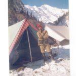 Maj Atul Garje at a field location