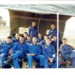 Maj Atul Garje along with his flying buddies