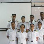 Lt Kiran Shekhawat with her comrades