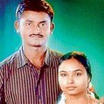 Lance Naik Botta Satyam with his wife Srivani