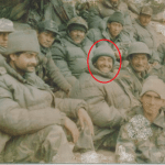 Captain Manoj Kumar Pandey with his course-mates