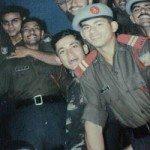 Captain Manoj Kumar Pandey with his course-mates