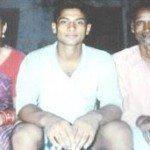 Captain Manoj Kumar Pandey with parents