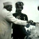 Param Vir Chakra being received by his wife