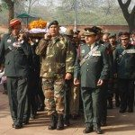 The last journey of Col M N Rai