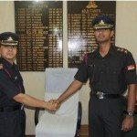 Captain Prem Kumar Patil as Adjutant of 80 Fd Regt