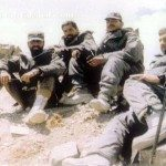 Captain Vikram Batra with his troops