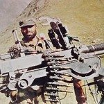 Captain Vikram Batra at a forward location