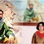 Capt Vikram Batra and (right) his parents
