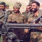 Captain Vikram Batra with his soldiers